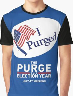 The Purge Election Year I Purged Graphic T-Shirt
