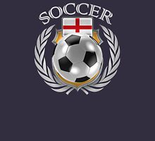 England Soccer 2016 Fan Gear Unisex T-Shirt