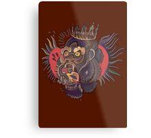 Conor Mcgregor Gorilla Tattoo (brown) Metal Print