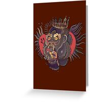Conor Mcgregor Gorilla Tattoo (brown) Greeting Card