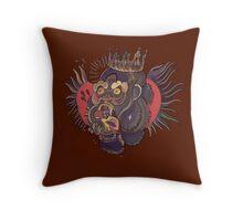 Conor Mcgregor Gorilla Tattoo (brown) Throw Pillow