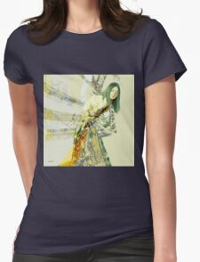 Starting To Fall Womens Fitted T-Shirt