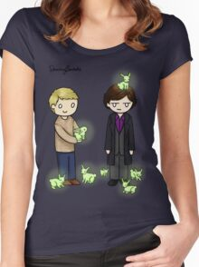 Little Bluebells Women's Fitted Scoop T-Shirt