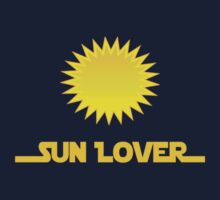 Renewable Energy - Sun Lover T-Shirt Decal One Piece - Short Sleeve