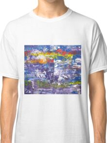 The remembrance of past sorrows is joyful - Original Wall Modern Abstract Art Painting Classic T-Shirt