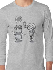 Carl and Ellie Young Happy  Long Sleeve T-Shirt
