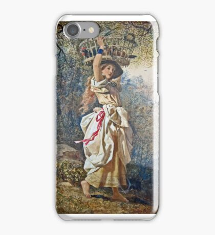 Edward Henry Corbould - The Poultry Girl  iPhone Case/Skin