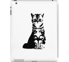 Kitty Cat (White) iPad Case/Skin