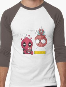 Superhero Ship Men's Baseball ¾ T-Shirt