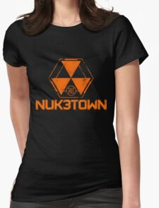 NUK3TOWN Womens Fitted T-Shirt