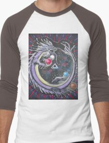 DRAGON - SPIRIT / ETHER ELEMENT Men's Baseball ¾ T-Shirt