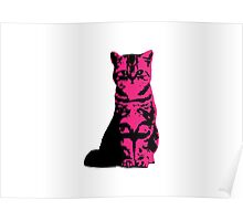 Kitty Cat (Pink) Poster