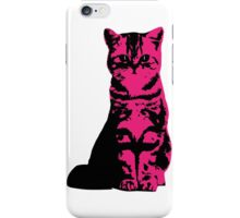 Kitty Cat (Pink) iPhone Case/Skin