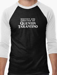 Written and Directed by Quentin Tarantino Men's Baseball ¾ T-Shirt