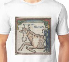 Taurus 16th Century Woodcut Unisex T-Shirt