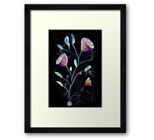 Mystical purple flowers Framed Print