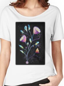 Mystical purple flowers Women's Relaxed Fit T-Shirt