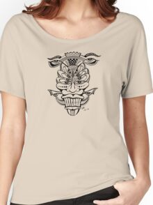 Multi-Eyed Face Women's Relaxed Fit T-Shirt
