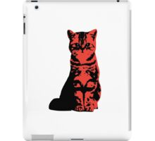 Kitty Cat (Red) iPad Case/Skin