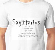 Sagittarius Traits Unisex T-Shirt