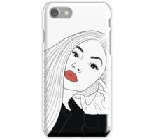Kylie Jenner Drawing iPhone Case/Skin