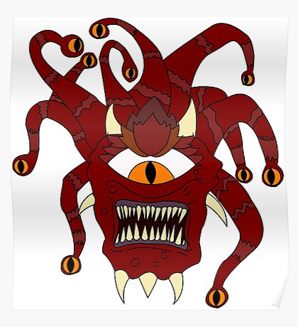 THE BEHOLDER- DUNGEONS AND DRAGONS Poster