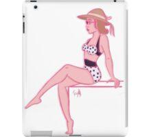 Girl in the 50s iPad Case/Skin