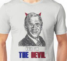 Vote the devil - bush Unisex T-Shirt
