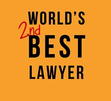 World's 2nd Best Lawyer Unisex T-Shirt