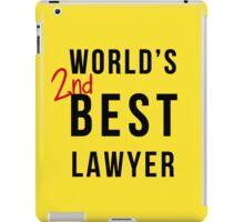 World's 2nd Best Lawyer iPad Case/Skin