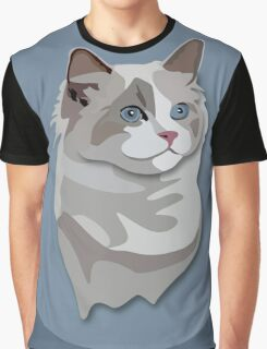Ragdoll Kitty Cat Graphic T-Shirt