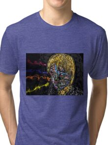 Self-portrait Tri-blend T-Shirt