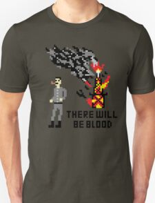 There Will Be Blood Pixel Unisex T-Shirt