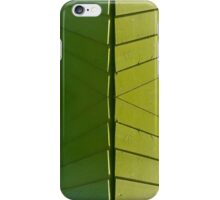 Green Fence iPhone Case/Skin