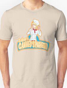 Saber's Canned Spaghetti  Unisex T-Shirt