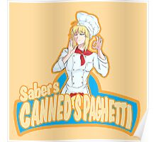 Saber's Canned Spaghetti  Poster
