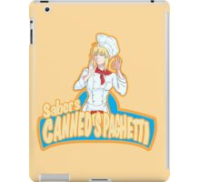 Saber's Canned Spaghetti  iPad Case/Skin