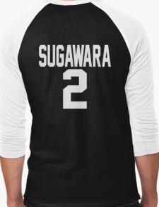 Haikyuu!! JerseySuga Number 2 (Karasuno) Men's Baseball ¾ T-Shirt