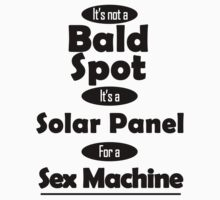 Solar Panel for a Sex Machine One Piece - Long Sleeve