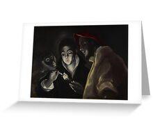 El Greco (Domenikos Theotokopoulos), An Allegory (Fábula Greeting Card