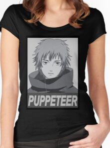 The Art Of Puppetry Women's Fitted Scoop T-Shirt