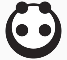 A most minimalist Panda One Piece - Short Sleeve