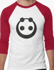 A most minimalist Panda Men's Baseball ¾ T-Shirt