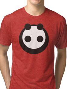 A most minimalist Panda Tri-blend T-Shirt