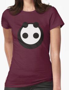 A most minimalist Panda Womens Fitted T-Shirt