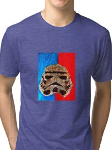 crazy stormtrooper  Tri-blend T-Shirt