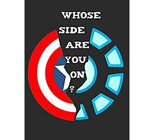 choose your side Photographic Print