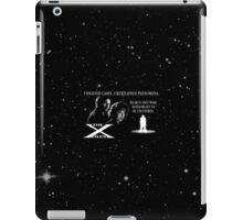 Unsolved Cases. Unexplained Phenomena. iPad Case/Skin