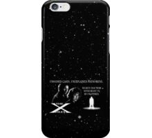 Unsolved Cases. Unexplained Phenomena. iPhone Case/Skin