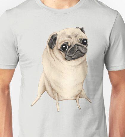 Sweet Fawn Pug Unisex T-Shirt